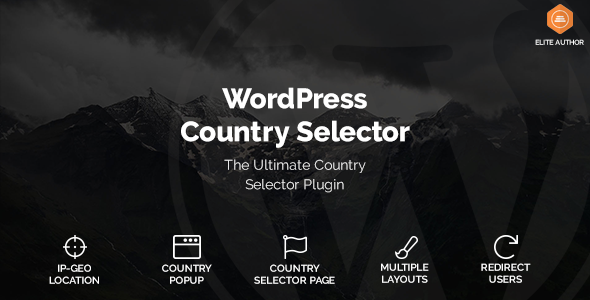 Wordpress Country Selector - CodeCanyon Item for Sale
