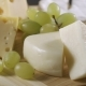 Cheese Platter with Different Cheese and Grapes - VideoHive Item for Sale