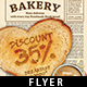 Bread Bakery Flyer Template