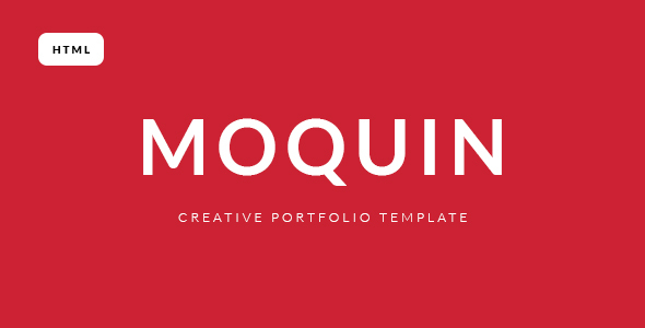 Moquin Creative Portfolio HTML Template - Portfolio Creative