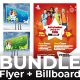 Bundle (Flyer+Billboard) - GraphicRiver Item for Sale