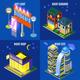 Night City Isometric Design Concept