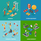Workout Fitness Design Concept
