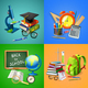 School 2x2 Design Concept