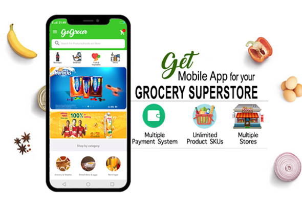 Supermarket Grocery Store Android Apps - Complete Package with 3 Apps - CodeCanyon Item for Sale