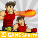American Boxer 2D Game Character Sprite - GraphicRiver Item for Sale