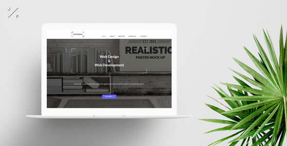 EXTENSION - Agency Muse Template - Corporate Muse Templates