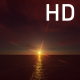 Bright Sunset of the Sun with Pink Clouds Above the Ocean - VideoHive Item for Sale
