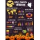 Halloween Infographic with Statistic Graph, Chart - GraphicRiver Item for Sale