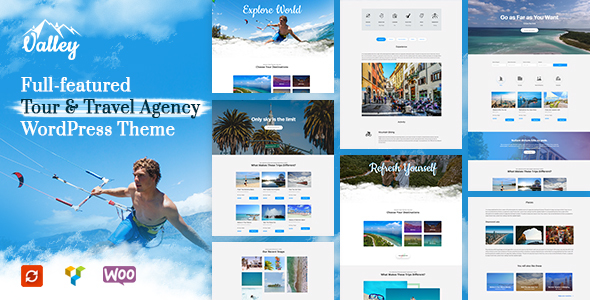 Valley - Tour & Travel WordPress Theme - Travel Retail