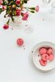 Top View of Pink Macarons - PhotoDune Item for Sale