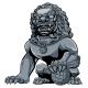 Chinese Lion Iron