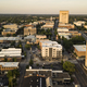 Aerial View Over the Downtown City Skyline and Buildings of Spartanburg - PhotoDune Item for Sale