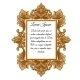 Ornate Vintage Frame with Space for Your Text