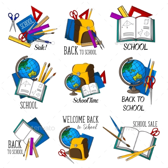Back to School Vector Education Icon - Miscellaneous Vectors