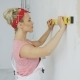 Woman Using Spirit Level - VideoHive Item for Sale