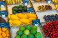 Exotic fruits for sale at a market - PhotoDune Item for Sale