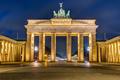 The illuminated Brandenburg Gate - PhotoDune Item for Sale