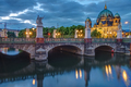The Schlossbruecke and the cathedral in Berlin - PhotoDune Item for Sale