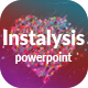 Instalysis - Analytics PowerPoint Template - GraphicRiver Item for Sale