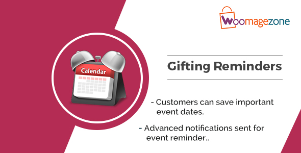 Magento 2.0 Gift Reminders Extension