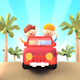 Summer Road Trip (Cartoon Characters) - VideoHive Item for Sale