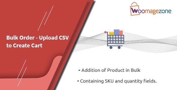 Magento Bulk Order - Upload CSV to Create Cart Extension