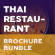 Thai Restaurant Menu Print Bundle 5 - GraphicRiver Item for Sale