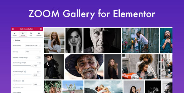 GT3 Zoom Gallery for Elementor Page Builder