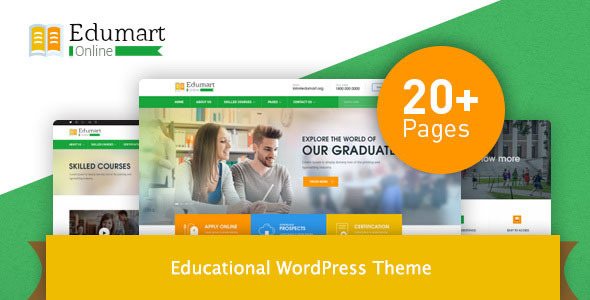 Edumart – Education WordPress Theme - Education WordPress