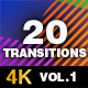 20 Transitions Vol.1 - VideoHive Item for Sale