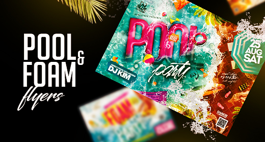 Pool&Foam Flyers
