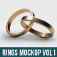 Wedding Rings Mock-Up