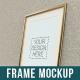 Poster Frame Mock Up