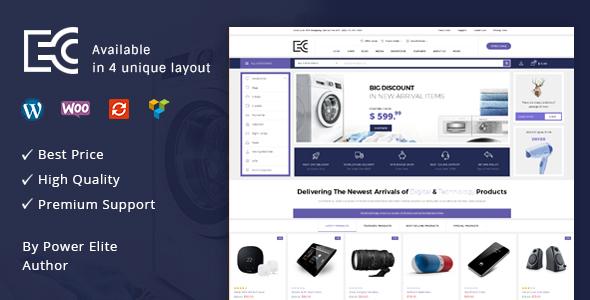 Image of eCode - Multipurpose WooCommerce Theme