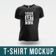 T-Shirt Mock-Up Vol 1 - GraphicRiver Item for Sale