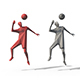Low Poly Posed People Pack 12 - Soccer - 3DOcean Item for Sale
