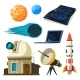 Science Astronomy Pictures Set