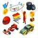 Sport Racing Symbols