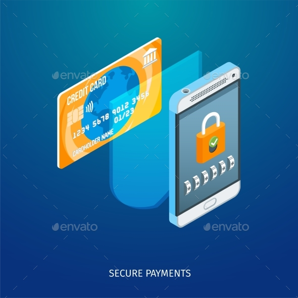 Secure Payments Concept - Computers Technology