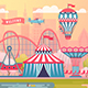 Set of Amusement Park