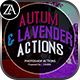 Dramatic_Autum & Lavender_Action - GraphicRiver Item for Sale
