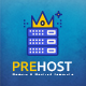 Prehost - Domain & Hosting PSD Template