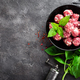 Beef meatballs. Cooking raw beef meatballs - PhotoDune Item for Sale