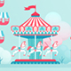 Amusement Park Landscape Banners - GraphicRiver Item for Sale