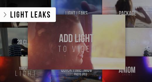 Light Leaks & Bokehs