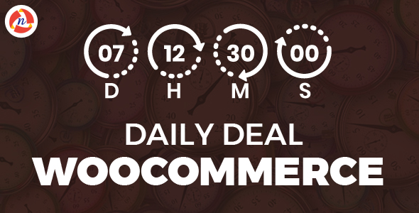 Daily Deal Woocommerce            Nulled