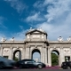 Alcala Gate in Madrid  Around Traffic Circle - VideoHive Item for Sale