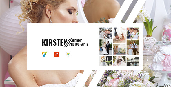 Image of Kirsten - Clean Wedding Photography Theme