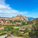 View of the resort town on the coast of the Black sea - PhotoDune Item for Sale